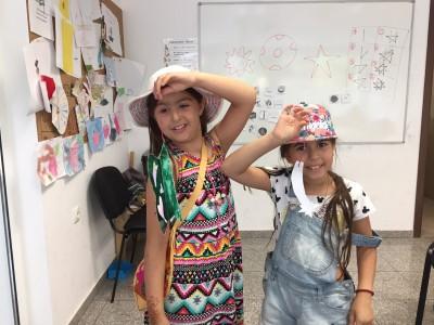 Деца от лятното английски училище на IH Sofia