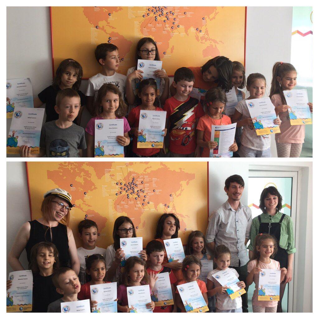 Поредното страхотно лято с децата от лятното ни училище