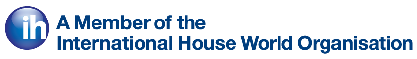 A member of the International House World Organisation and logo