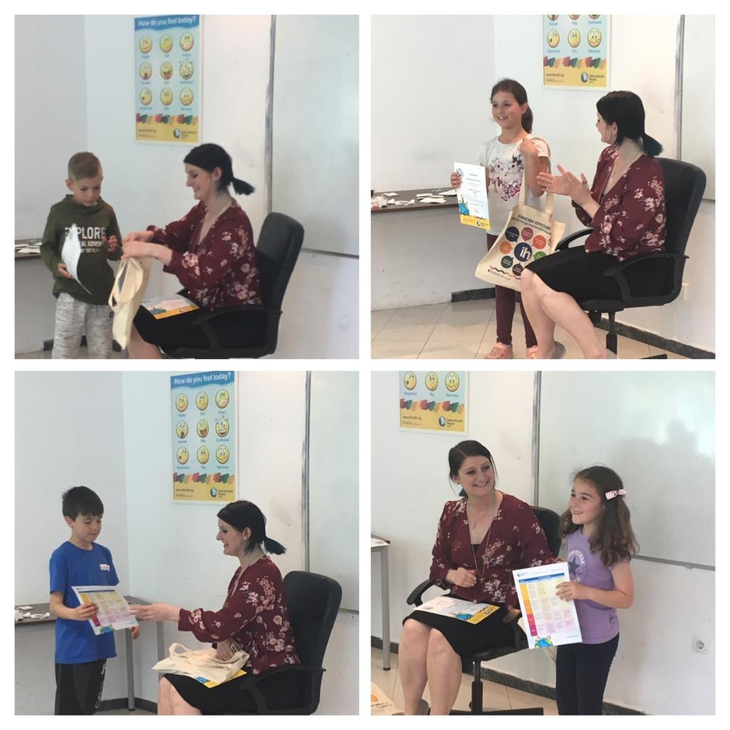 Едно чудесно представление на децата от английска група А03! Със Сара Джейн.