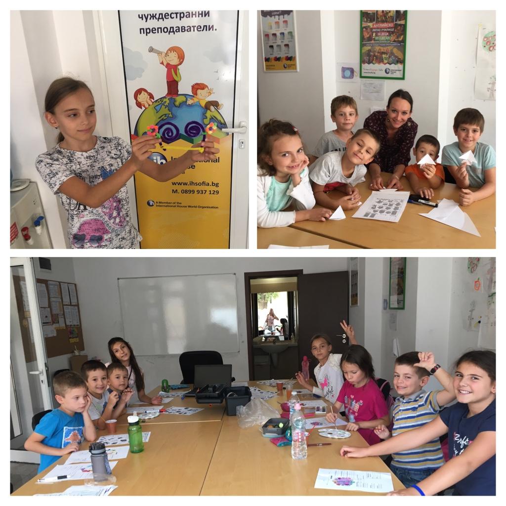 Тема на седмица 9 от лятното английско училище за деца.