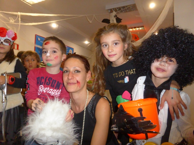 Хелоуин парти с учениците на IH Sofia, английски за деца.