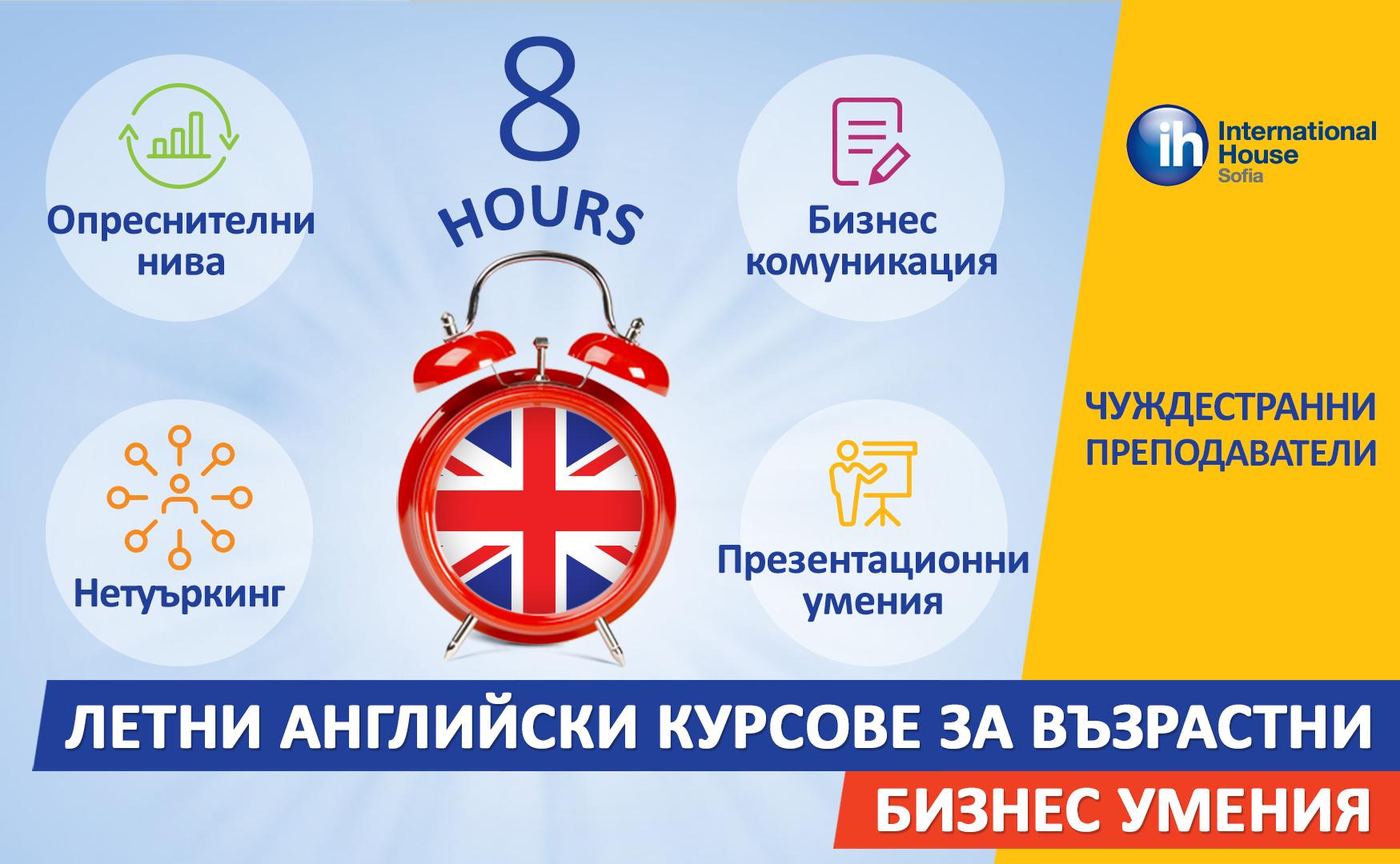 Интензивни онлайн курсове по английски език.