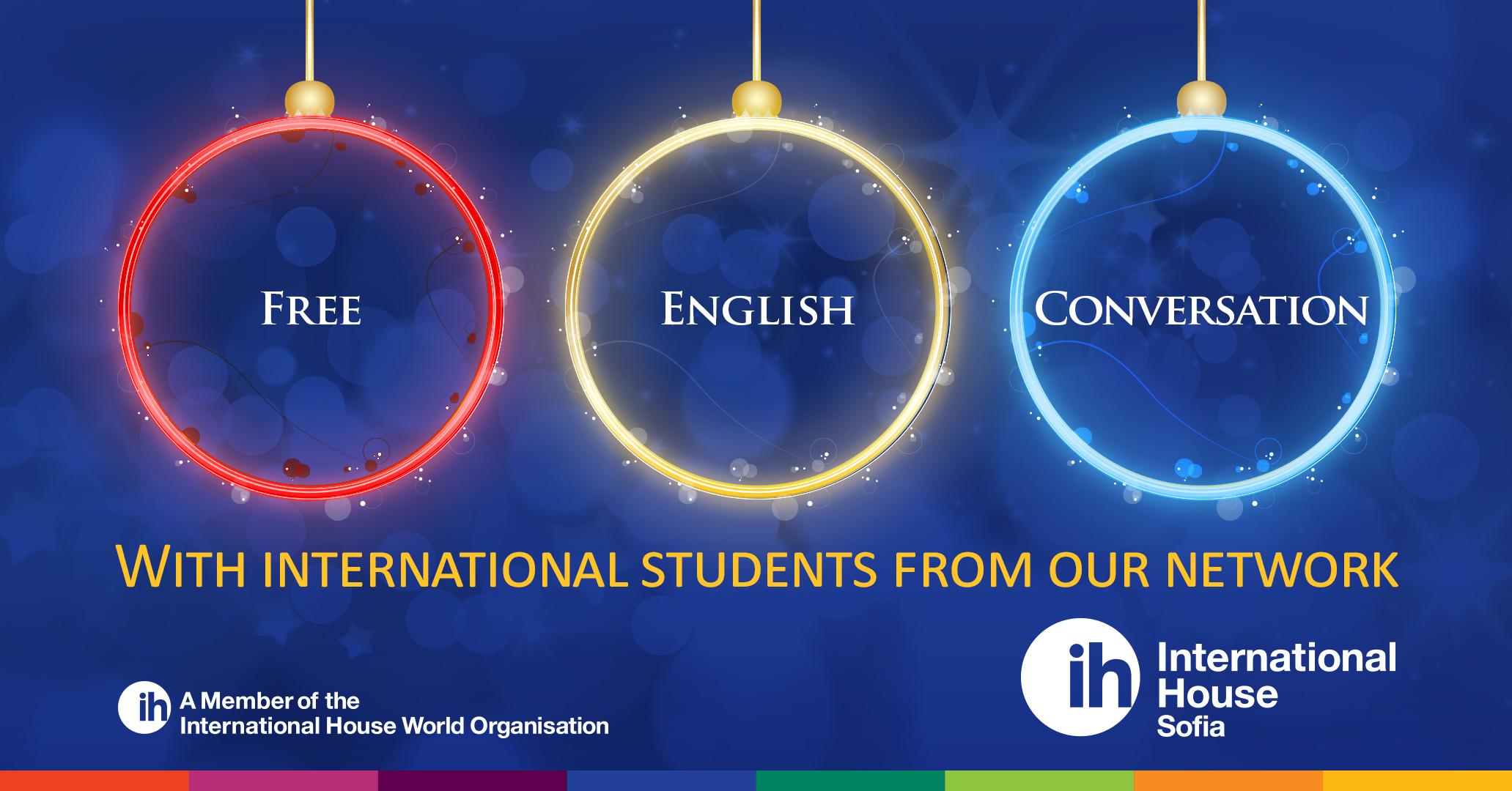 Безплатен разговорен английски клас